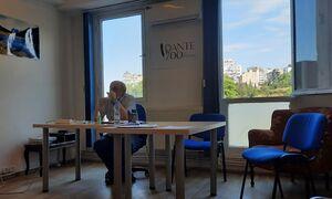 Istituto cultura italiana (NGO)/Conferenza Dante e Seferis - Oleg Tsybenko/prof Oleg Tsybenko Dante Seferis.jpg